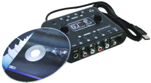 OMNITRONIC DDI 4x4 digital USB DJ interface